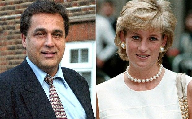 the doctor and princess diana | Diana, Princess of Wales was keen to marry Dr Hasnat Khan Photo: REX ...