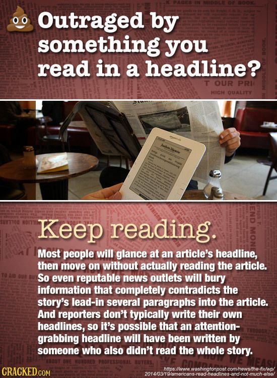 21 Signs That Story You're About To Share Is Secretly B.S. - Aug 6, 2016 -