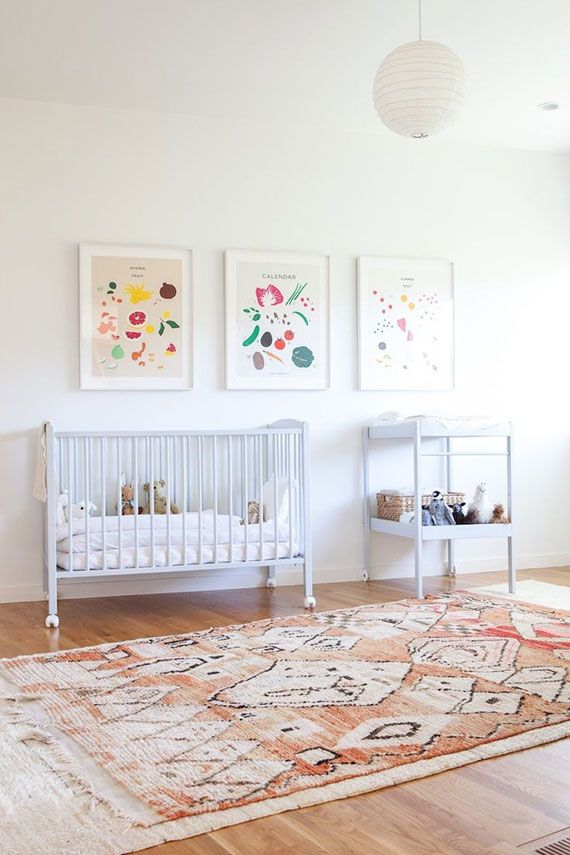 prints can add character to your child's room