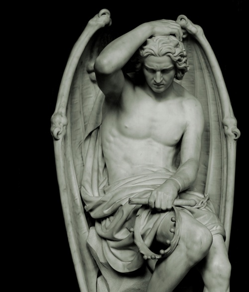 Lucifer of Liege by Guillaume Geefs, 1848