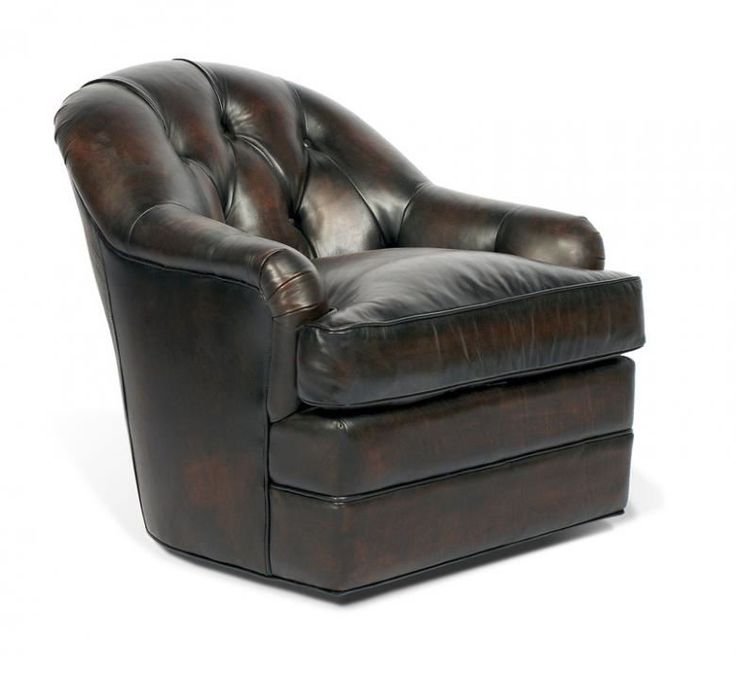 Hugo Swivel Chair : Leather Furniture Expo