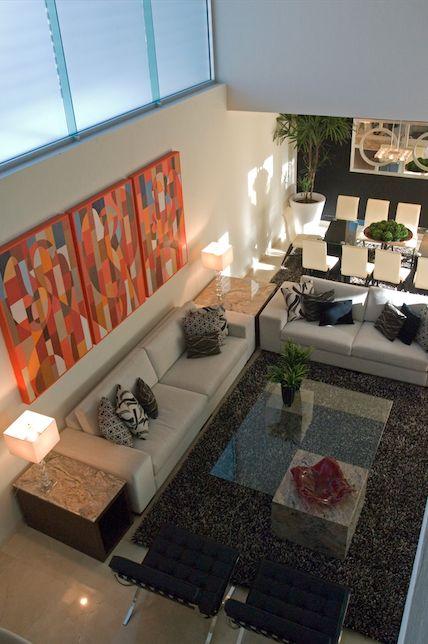 Sala, elegante, moderna, arte, por Victoria Plasencia interiorismo Más