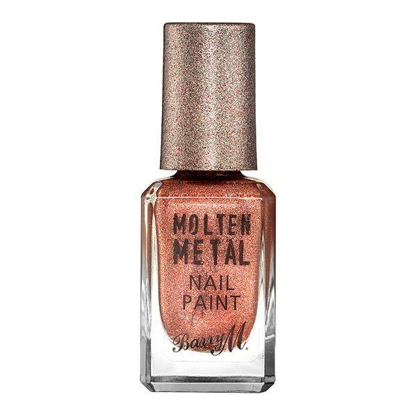 Barry M Molten Metals Nail Paint - Copper Mine | Superdrug