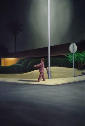 """Sleepwalker  by Rich Lehl  Oil on panel, 42 x 30 x 1 1/4"""", 2003"""