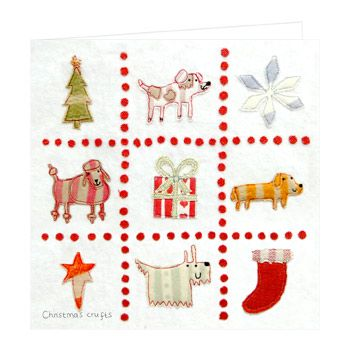 Christmas Card - Christmas Crufts (Small, pack of 6)