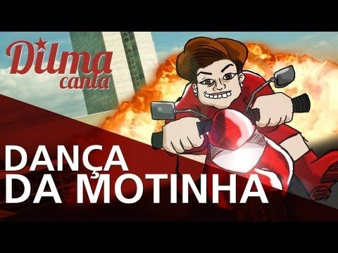 DILMA ROUSSEFF CANTA #3 - DANÇA DA MOTINHA (+playlist)