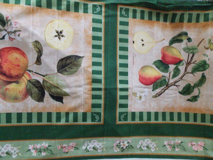 WtW Fabric Fruit Floral Nature Garden Tina Higgins VIP Premium Panel Quilt