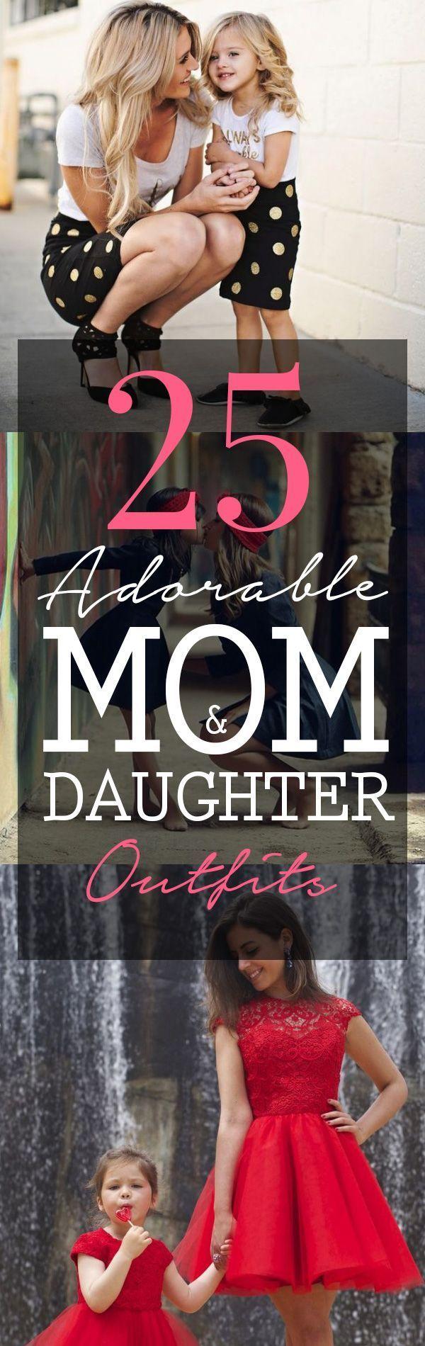 mom and daughter outfits, matching outfits #mom #daughter #matching #outfits www.momooze.com momooze.com momooze.com