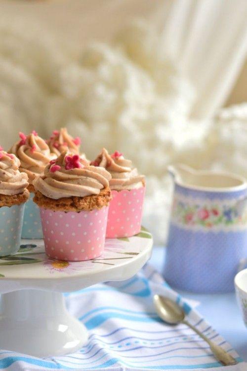 Gesztenyés cupcake