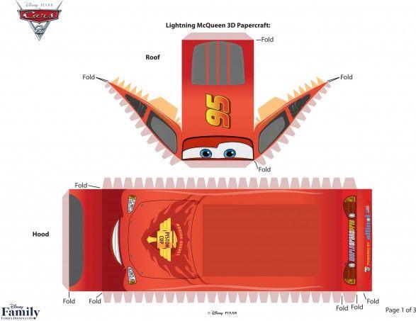 pixar-cars-2-lightning-mcqueen-3d-papercraft