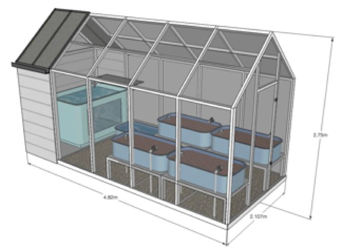 148 best images about estufas hidroponia aquaponia on for Swimming pool converted to greenhouse