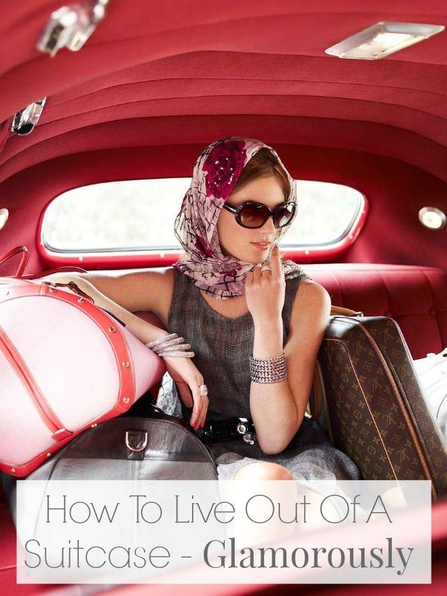 Did you know you can travel the world for 10 months while maintaining a manicure? Travel tips for the glamorous!
