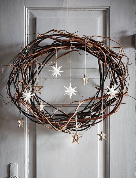 DIY: Pynt til din juledør – #din #DIY #juledør #…