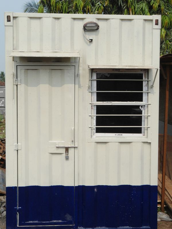 Security guard cabin suppliers in Mumbai  from Royal Porta Cabins provides you  durable facility in all climatic condition including with toilet facility inside cabin.