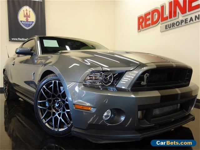2013 Ford Mustang Shelby GT500 Coupe 2-Door #ford #mustang #forsale #unitedstates