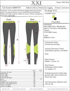 Legging Tech Pack