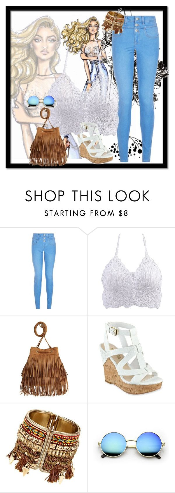 """""""Favorite Jeans"""" by sandra-noal on Polyvore featuring New Look and GUESS"""
