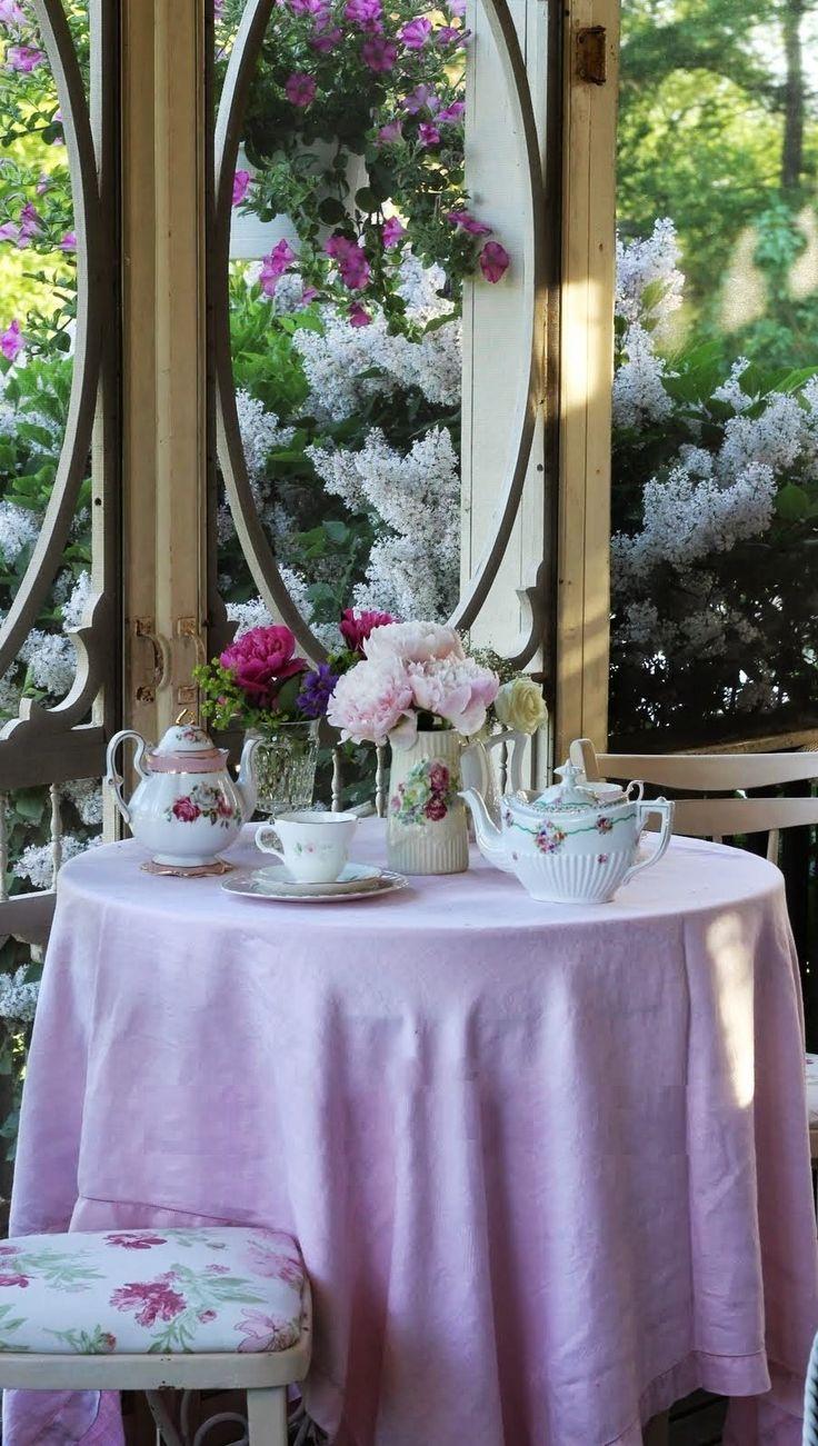 Pin by LOTTIE on Villa Ivana ⊱╮️ in 2020 Pink tea, Tea