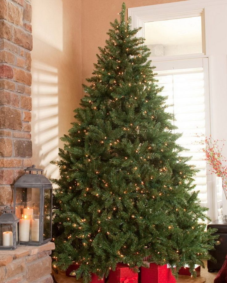 Classic Pine Full Pre-lit Christmas Tree by Finley Home