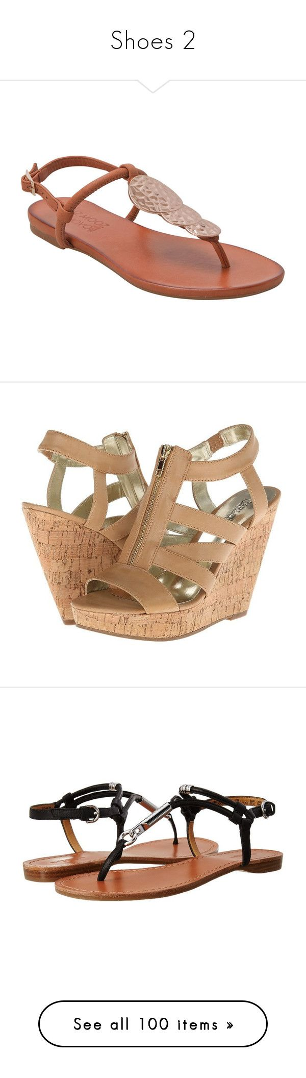 """""""Shoes 2"""" by xirishxprincessx ❤ liked on Polyvore featuring shoes, sandals, 22. flats & sandals., flats, zapatos, brown, brown leather sandals, flats sandals, brown sandals and bohemian sandals"""