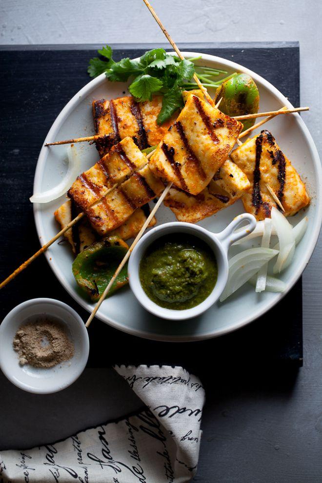 Sinfully Spicy - Piri Piri Paneer Tikka {Indian vegetarian recipes} #lent