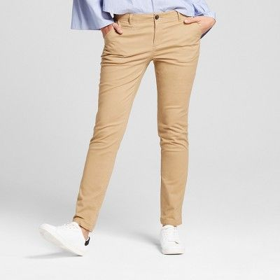 55c6d2884bd1 Women's Chinos - exciting alternative to ladies jeans Womenu0027s Straight  Leg Slim Chino Pants - A