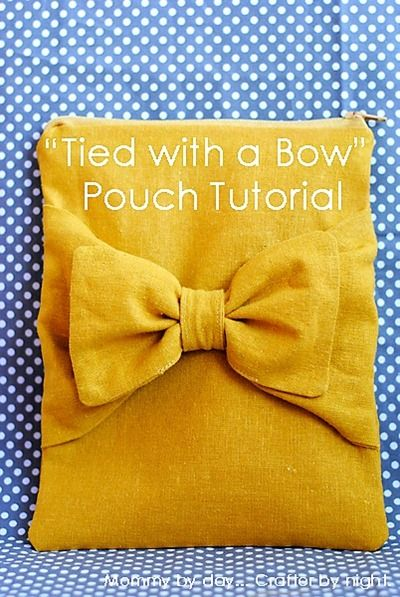Bow Pouch/Tutorial