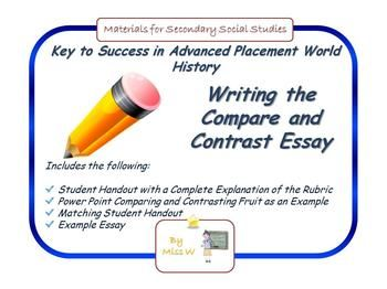 Compare   Contrast Essay Rubric for Middle School   Study com essay rubric high school source