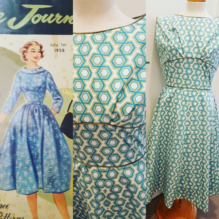 """11 Likes, 2 Comments - Penny Wolf (@v1ntagev1xen) on Instagram: """"Just finished this #vintage summer dress based on this Australian Home Journal pattern. Feeling…"""""""