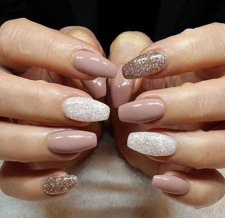pinterest ↠ danielemariex3 | nails | Pinterest | Shapes, Gold ...