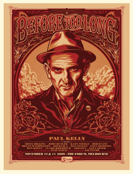 GigPosters.com - Paul Kelly