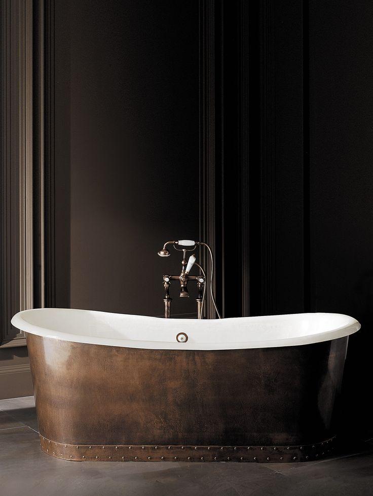 Transitional Ambra Freestanding Bathtub