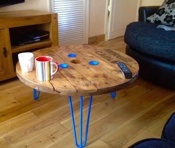 Best 20 cable reel table ideas on pinterest diy cable for Relooker une table en bois