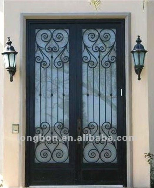 Look what I found Via Alibaba.com App: - Top-selling wrought iron decoration entrance doors