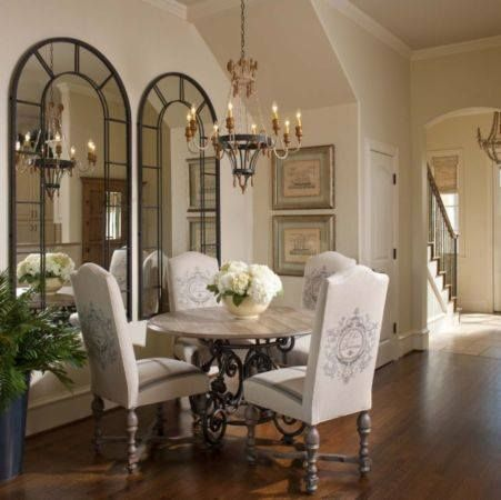 1000 ideas about dining room mirrors on pinterest - Pictures of mirrors in living rooms ...