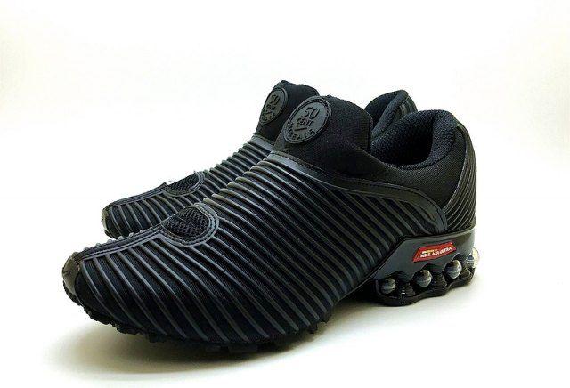 4da1d08e87961c Nike Air Max Plus v 50 Cent Shox KPU Black Out Mens Footwear NIKE ...