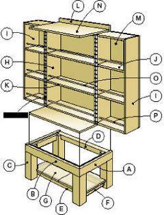 Make a DVD cabinet