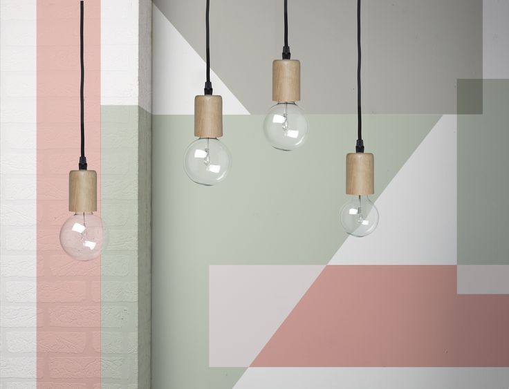 Ga je binnenkort aan de slag in huis? Denk er dan eens over om je muur in dezelfde kleur te schilderen als je verlichting of je woondecoratie. Op die manier maak je er een mooi geheel van! :-) #verf #opdemuur #kwantumbelgie #pastel #pasteltinten