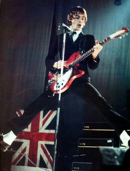 Paul Weller of the Jam