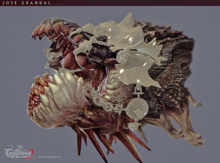 Castlevania: Lords of shadow 2. Leviathan, Jose Grandal on ArtStation at https://www.artstation.com/artwork/01KY