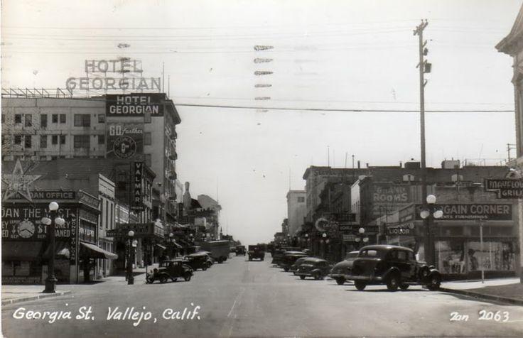 vallejo historic homes   Vallejo California Postcard Group