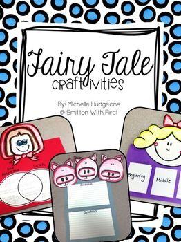 Fairy Tale Craftivities {{FREEBIE}} Subjects: Balanced Literacy, Reading, Reading Strategies. Grade Levels: Kindergarten, 1st, 2nd, 3rd