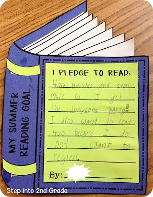 I did this project on the last day of school. Since I loop, it is a great way to keep in touch and keep the class engaged in reading over the summer. We all created a goal and had a book swap, FUN! I bought the lesson on teacherspayteachers and it was worth it!