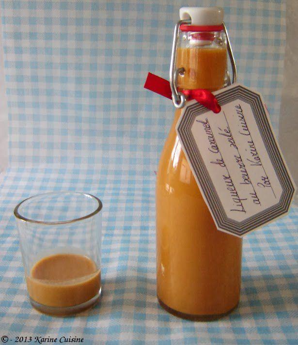 Découvrez la recette Liqueur de caramel au beurre salé sur cuisineactuelle.fr.