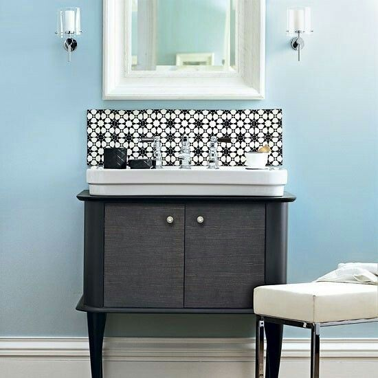 35 best Bathroom images on Pinterest Bathroom, Bathroom ideas - moderne bder mit dachschrge