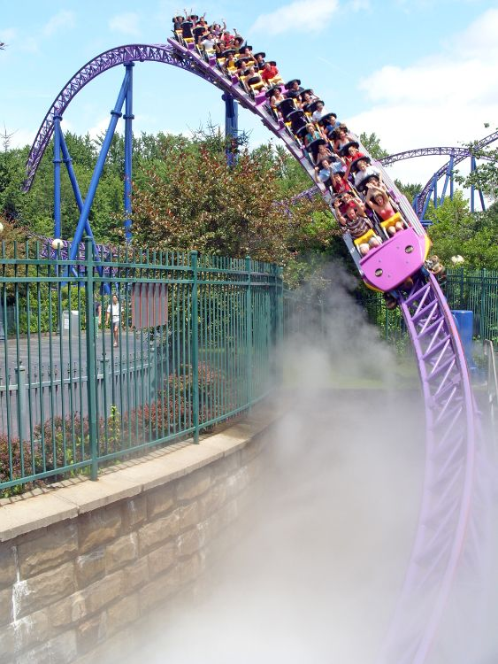 Bizarro at six flags#rollercoasters