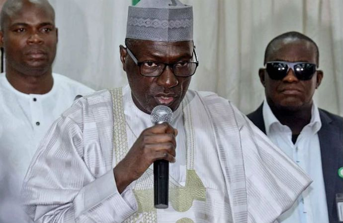 Chairman of the Caretaker Committee of the Peoples Democratic Party, Ahmed Makarfi, has accused the leader of the Indigenous People of Biafra, IPOB, Nnamdi Kanu of holding Nigerians and the country's economy to ransom through
