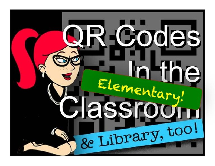 QR codes in the classroom- great ideas....so interative and fun!: Libraries Ideas, Libraries Stuff, Qr Codes, Schools Stuff, Elementary Classroom, Teaching Ideas, Libraries Display, Gwyneth Jones, Classroom Libraries