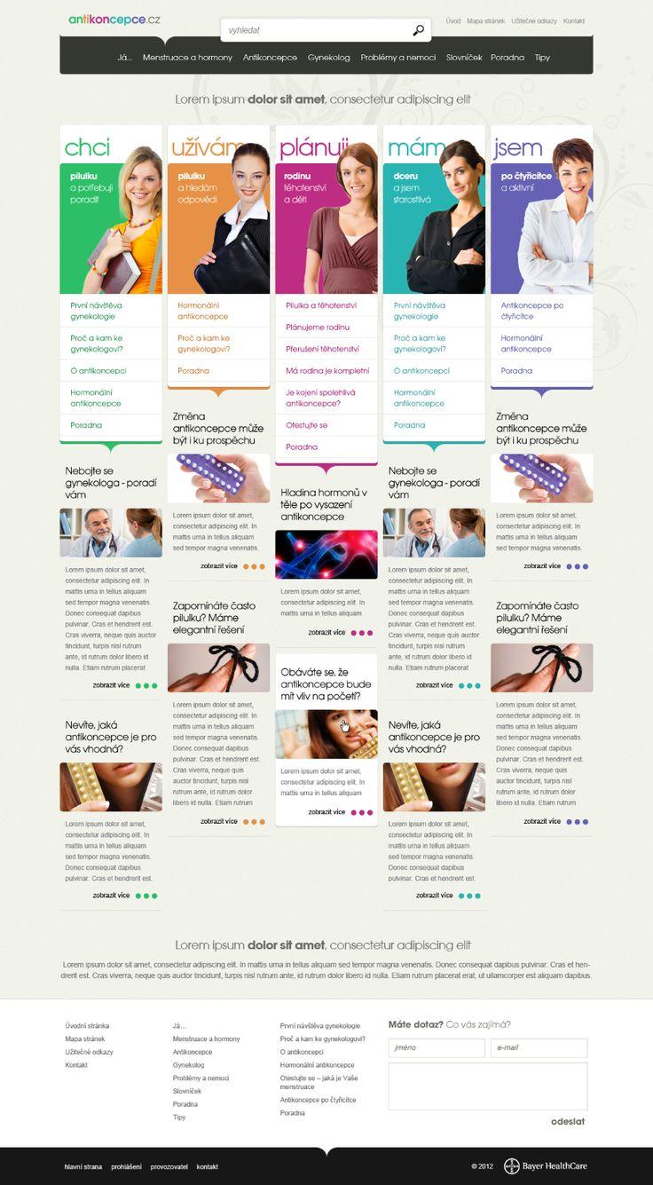 Antikoncepce.cz #webdesign