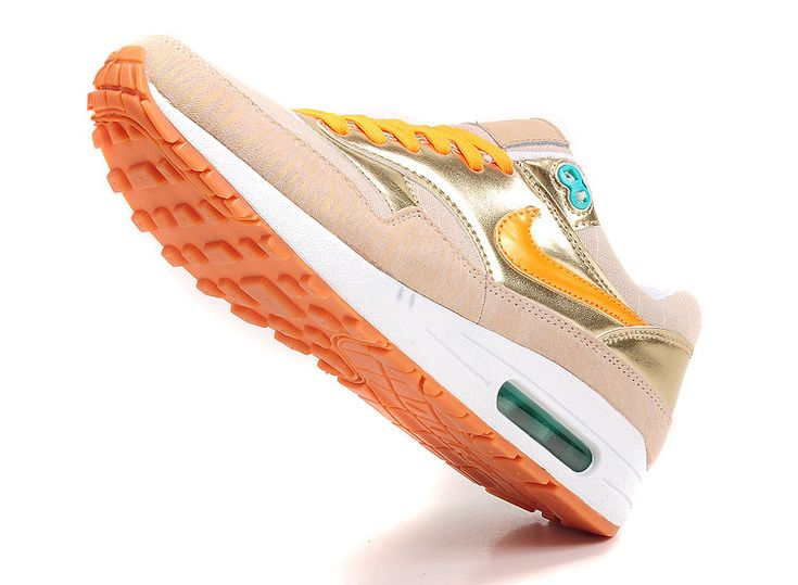 finest selection bf738 dbc1d ... NIKE WOMENS AIR MAX 1 PREMIUM GOLD BEIGE 454746 202  150 . ...